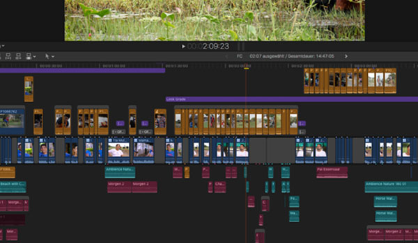 Filmschnitt in Final Cut Pro X